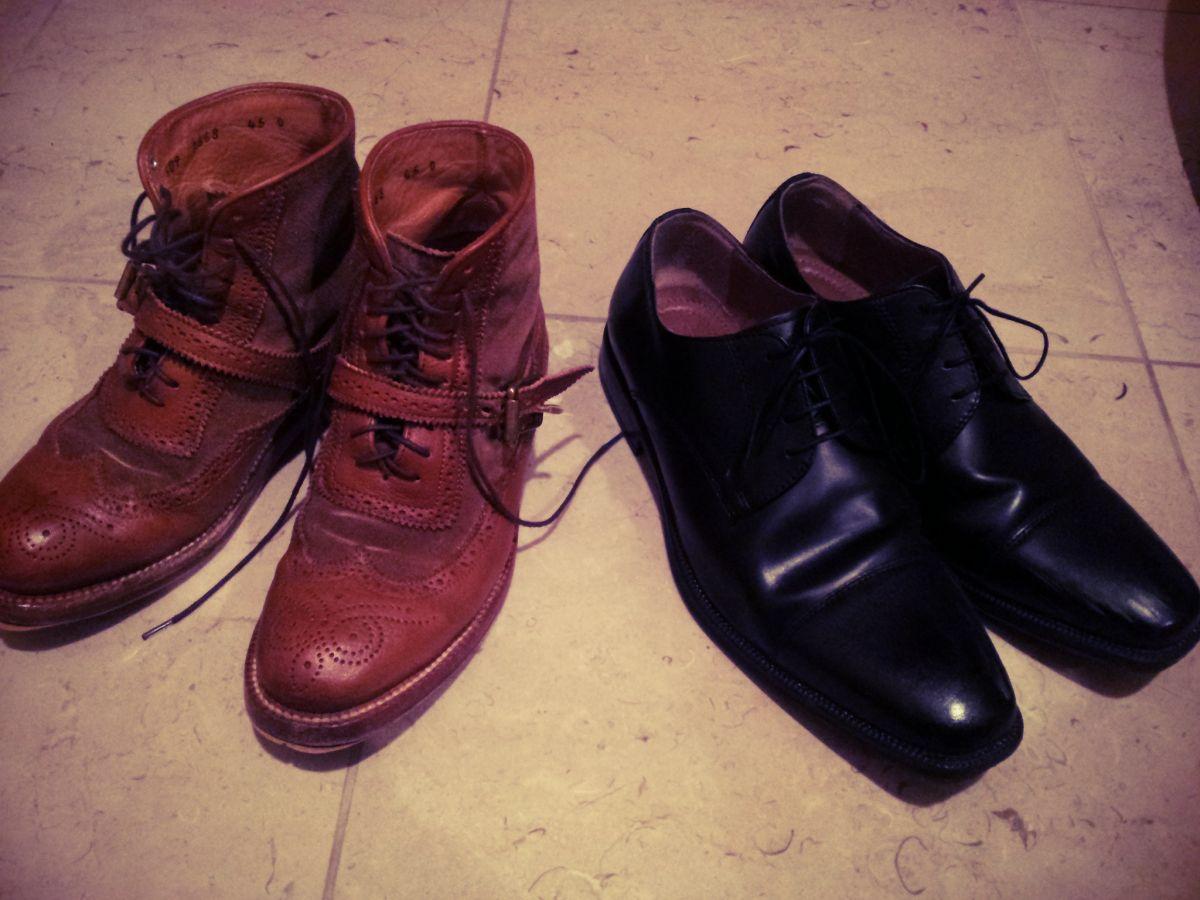 靴磨き女子の休日