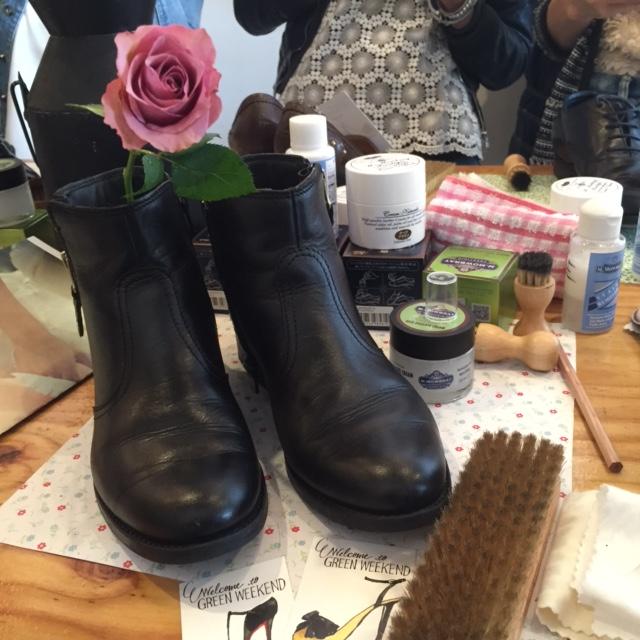 靴磨き女子部×NEXTWEEKEND8