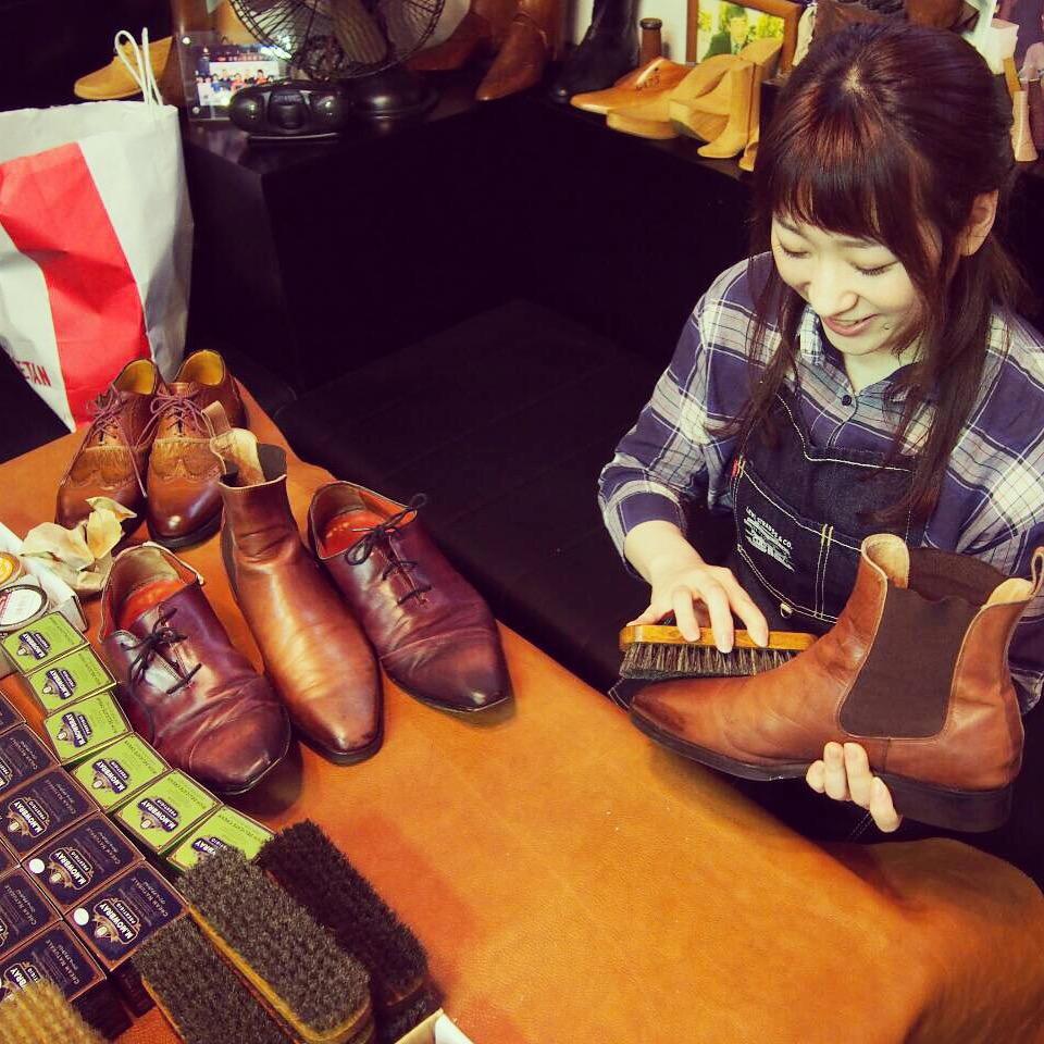 靴磨き女子部ワークショップ2
