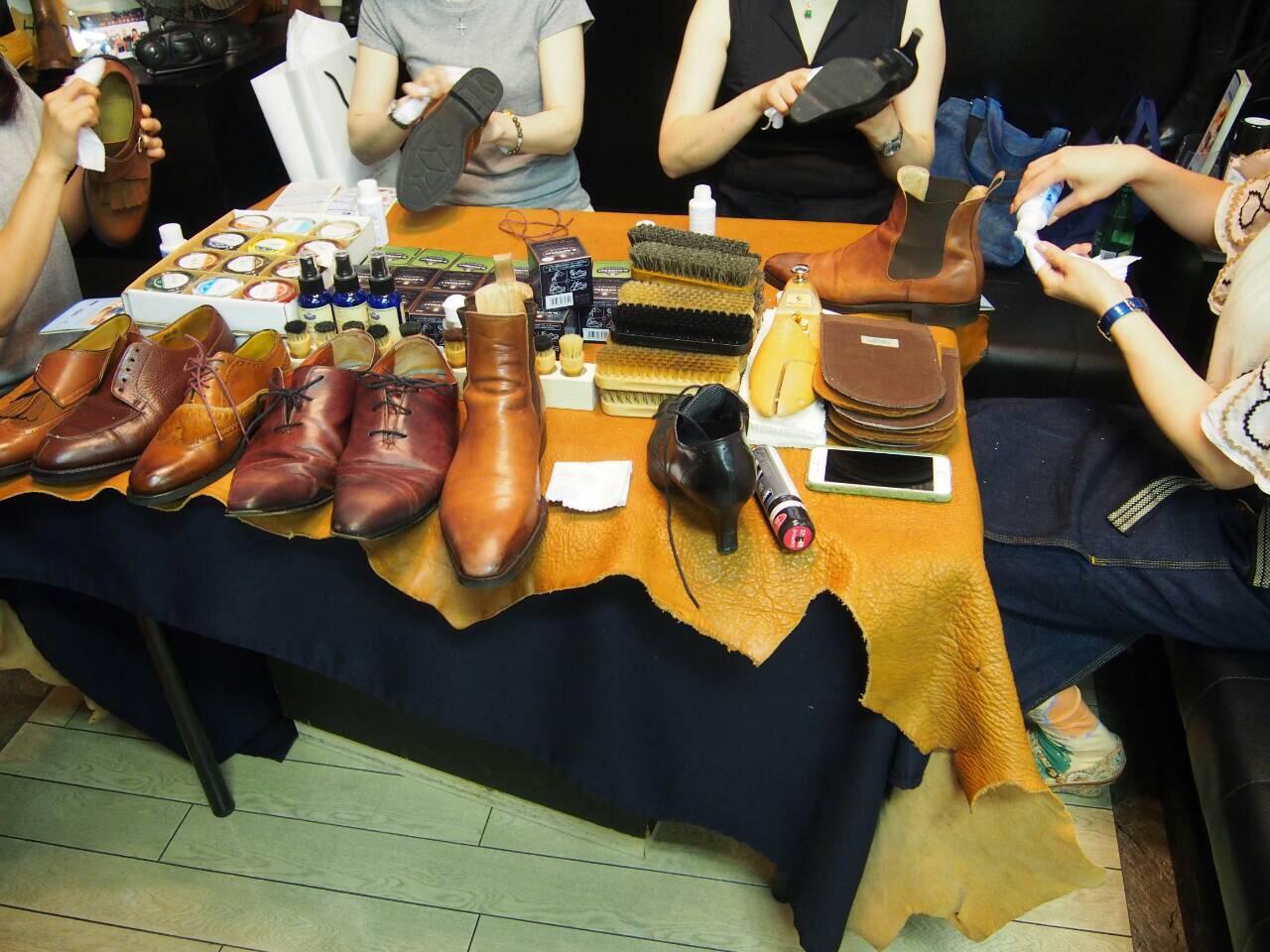 靴磨き女子部ワークショップ3