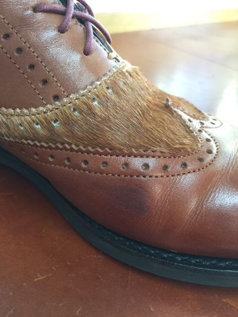 靴のシミ・汚れ