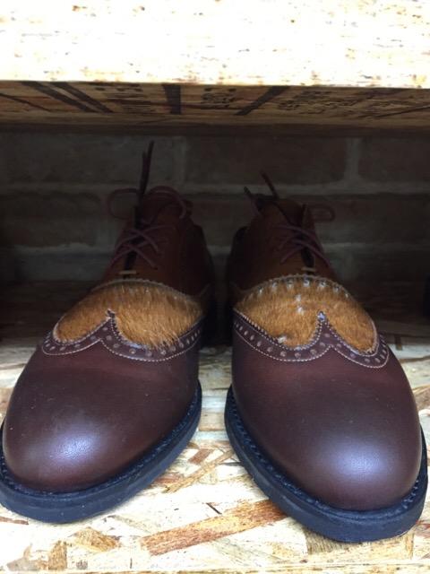 靴を乾かす