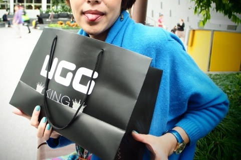 オースオラリアで買ったUGGのハラコモカシン